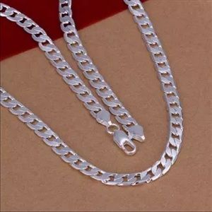 Other - Men's 4mm Necklace Curb Chain